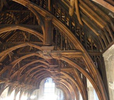 Westminster Hall hammer-beam roof